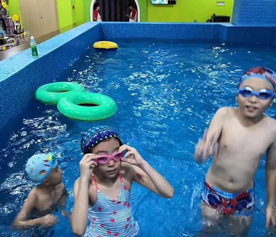 云南儿童水上乐园水上漂流项目